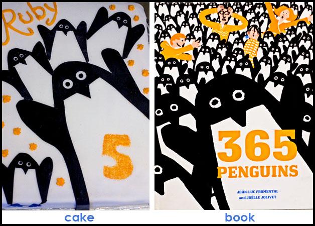 Penuin Cake