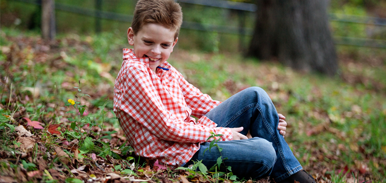 Kids Fall Photo Session – Ryan P.