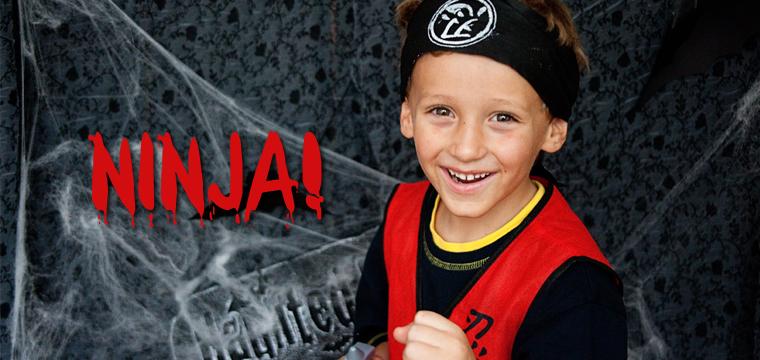 Indoor Halloween Mini Session:  Ninja
