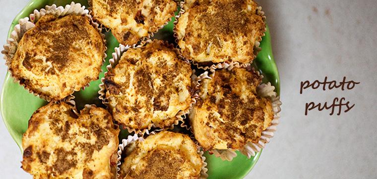 Easy Recipe:  Potato Puffs