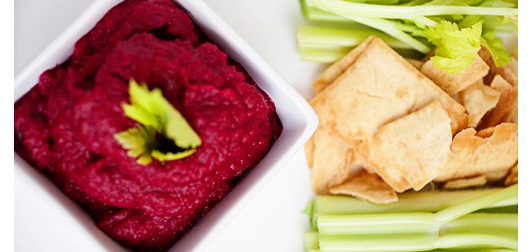 Easy Recipe:  Beet Hummus