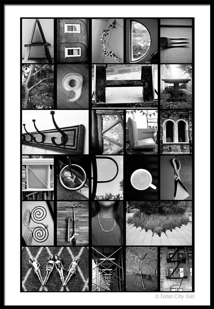 Letter Art Print.Letter Photography Art Prints Total City Girl The Blog