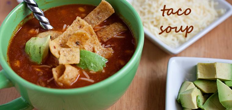 Easy Dinner:  Taco Soup