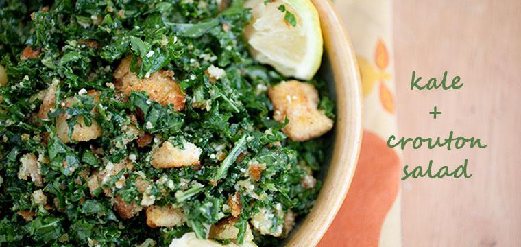 Kale + Crouton Salad
