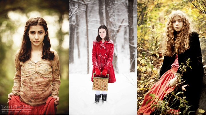 Fairy tale inspired photo shoots by Total City Girl