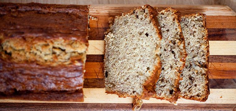 Baking:   Banana Nut Bread