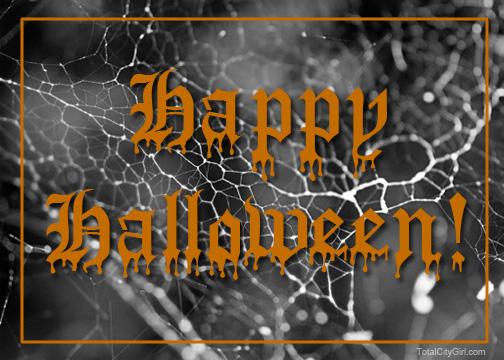 Happy Halloween - design by Total City Girl