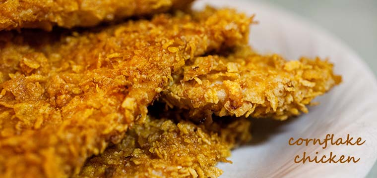 What's For Dinner?!?    Cornflake Chicken
