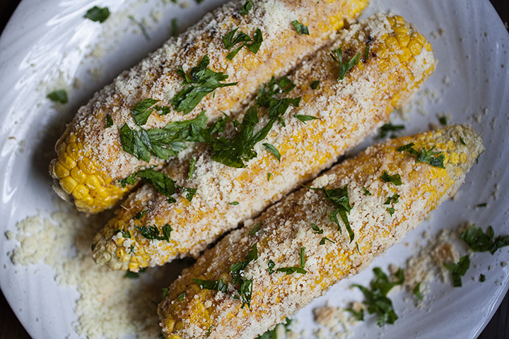 Bar Taco Inspired Grilled Corn