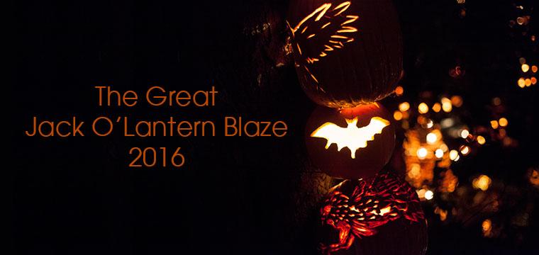The Great Jack O'Lantern Blaze 2016
