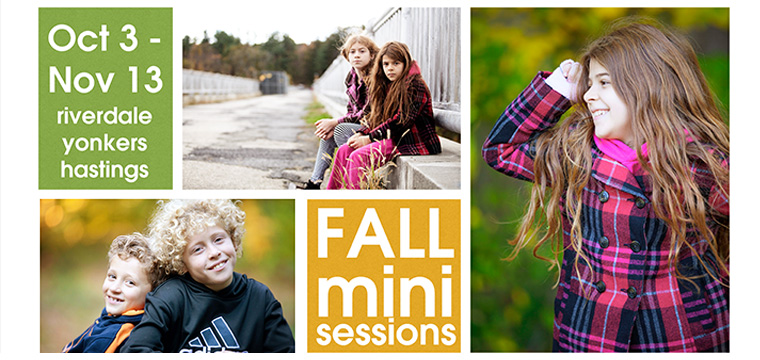 Fall 2016 Mini Photo Sessions