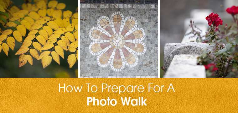 How To Prepare For A Photo Walk
