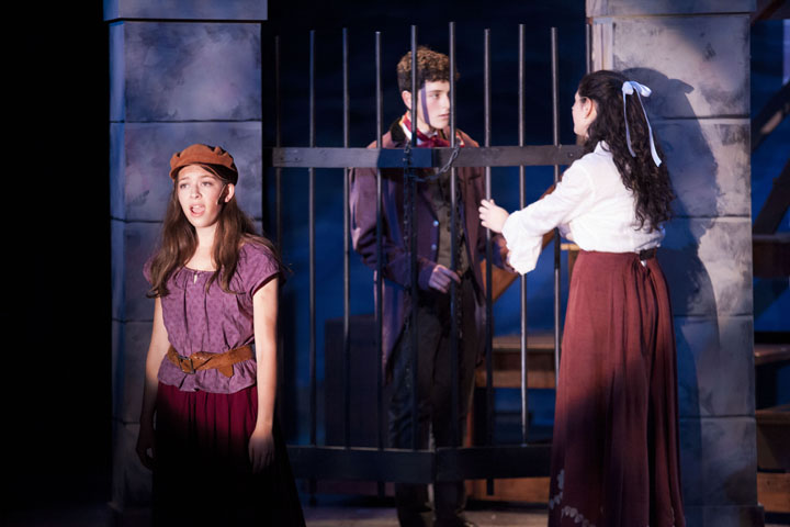 Les Miserables - in The Riverdale Press - photograph by Stacey Natal