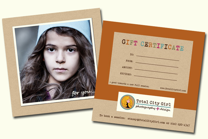 Total City Girl Gift Certificates