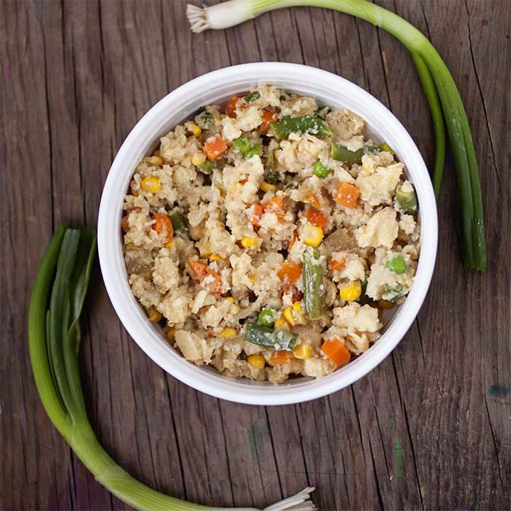 Easy Recipe - Cauliflower Fried Rice with Vegetables