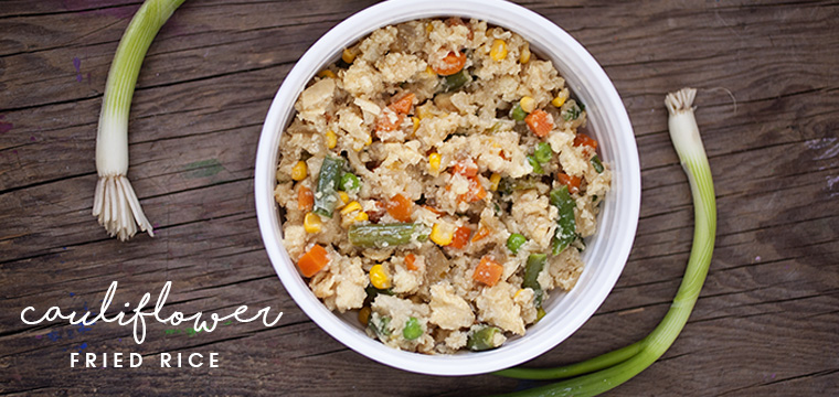 Easy Recipe:  Cauliflower Fried Rice With Vegetables