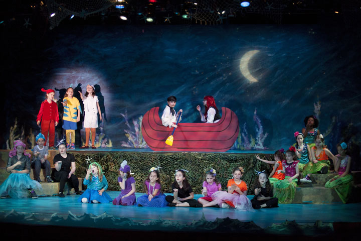 FIns Cast - The Little Mermaid