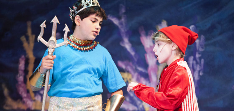 Theater Photography:   The Little Mermaid